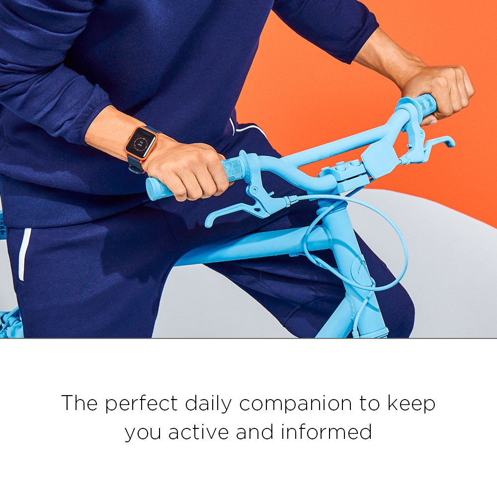 Amazfit Bip Smartwatch by Huami with All-day Heart Rate and Activity Tracking, Sleep Monitoring, GPS, Ultra-Long Battery Life, Bluetooth, US Service and Warranty (A1608 Green) by Amazfit (Image #10)
