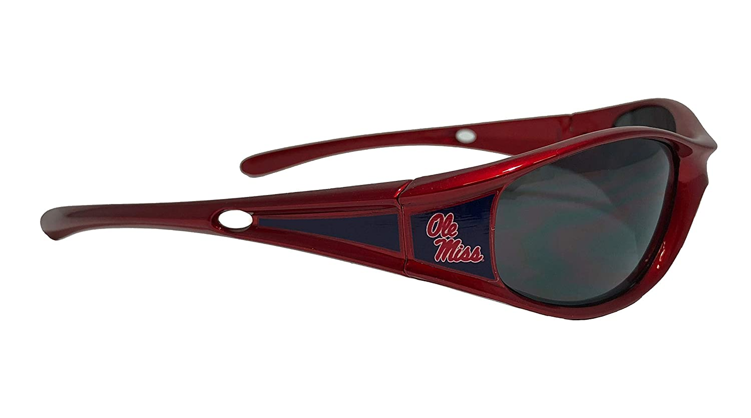 UVA and UVB Protection NCAA Sports Elite Colored Frame Sunglasses