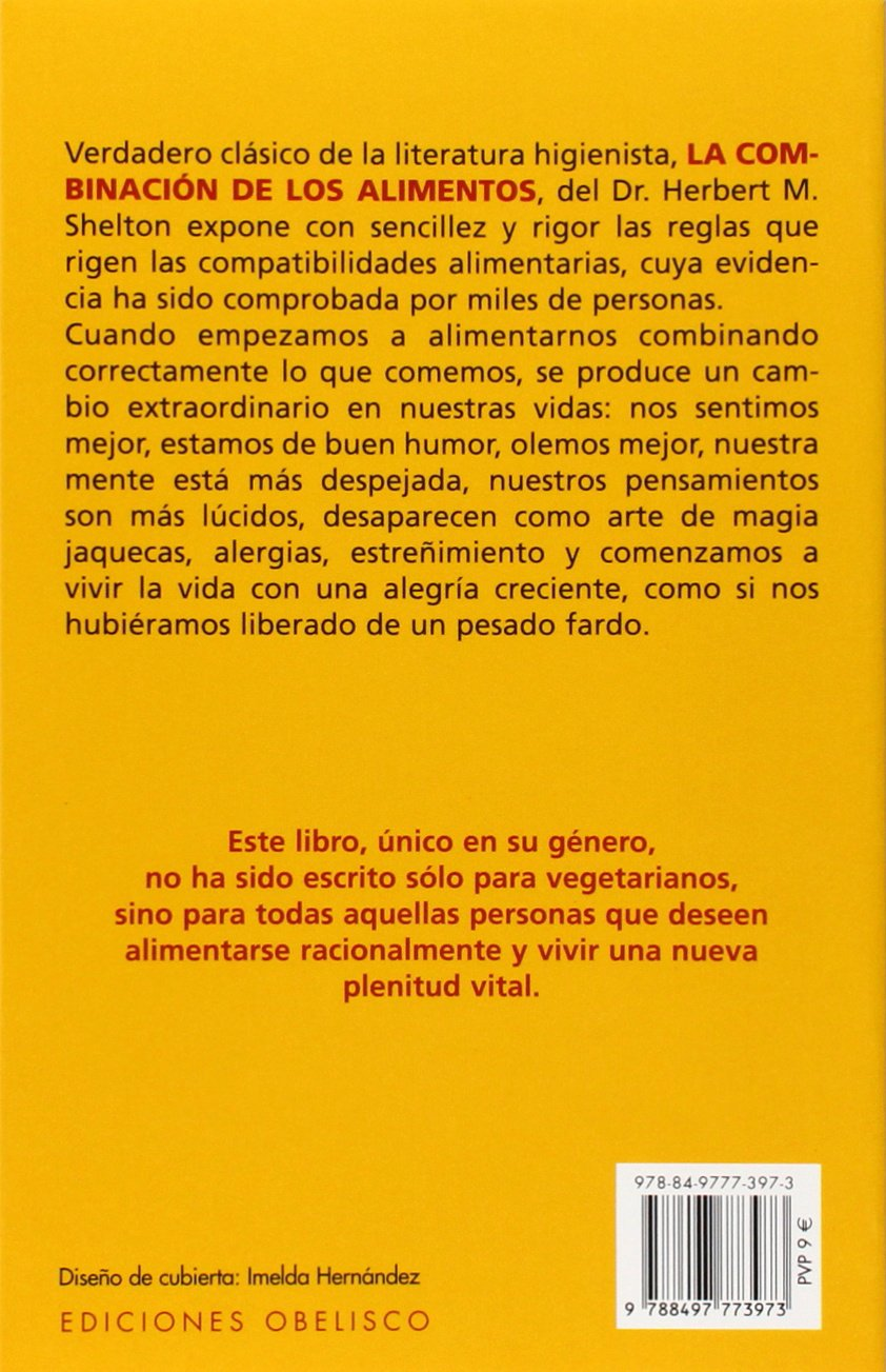 Combinación de los alimentos (SALUD Y VIDA NATURAL): Amazon ...