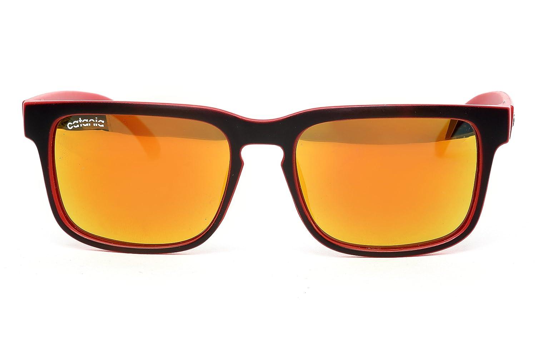 b5eef1dd66 Catania Occhiali Polarised Sunglasses - New Season Collection Vintage  Sunglasses (Inc. Case) Polarised Lenses  Amazon.co.uk  Sports   Outdoors