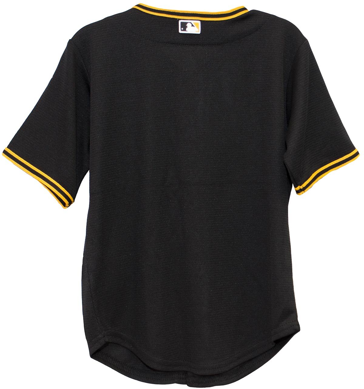 3257c75f8 Amazon.com   Pittsburgh Pirates MLB Infant Cool Base Alternate Team Jersey  Black (Infant 12 Months)   Sports   Outdoors