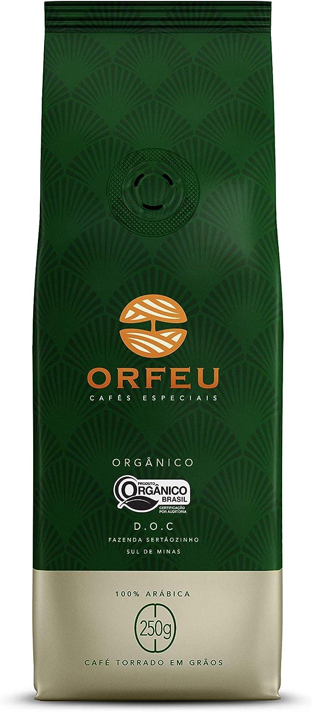 Café em Grãos Orgânico Orfeu 250g por ORFEU