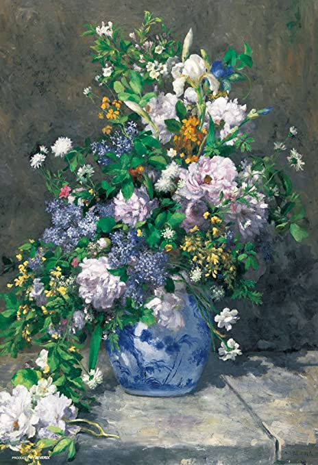 Amazon.com: Japan Official Jigsaw Puzzle - Spring Flowers Bouquet ...