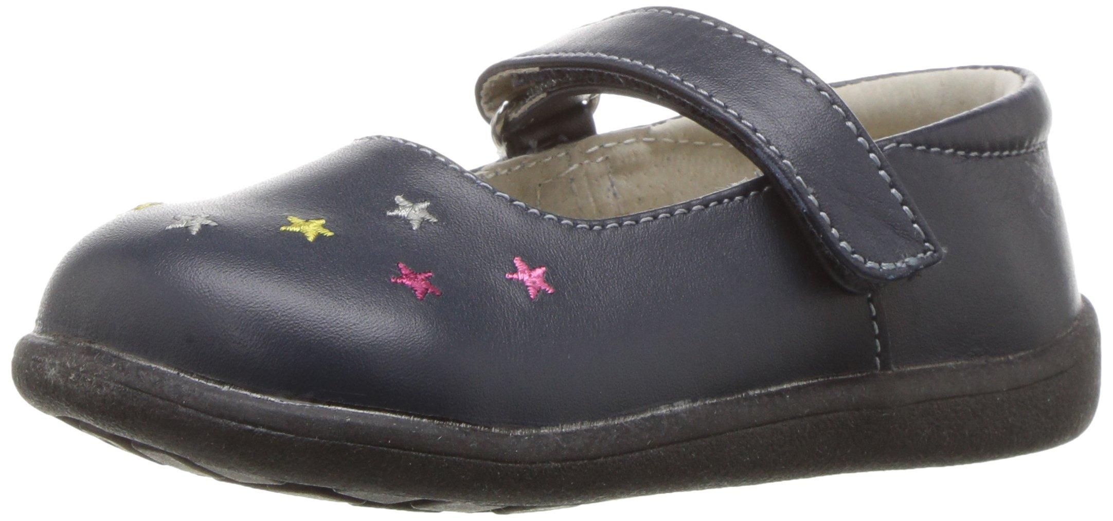 See Kai Run Girls' Harriett Mary Jane, Navy, 10.5 M US Little Kid