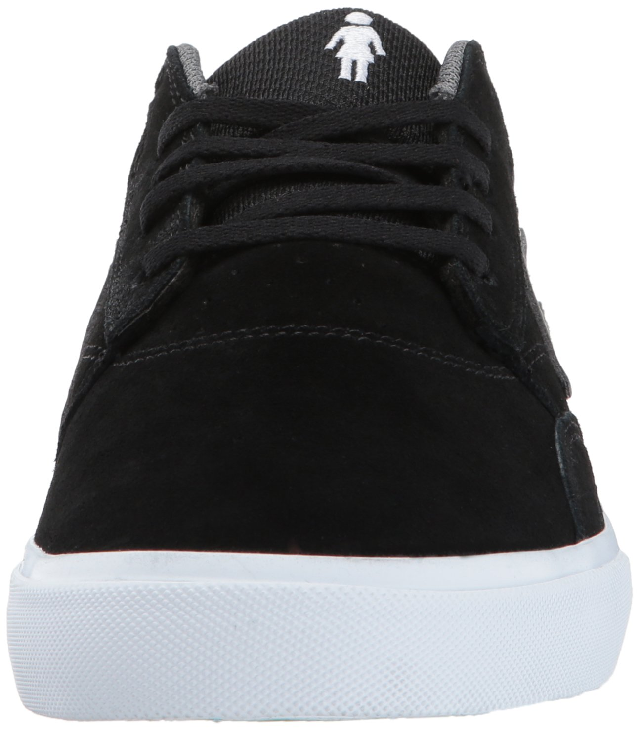Lakai Griffin Skate Shoe B01MT8QX6I Suede 6.5 M US|Black/Grey Suede B01MT8QX6I 164356