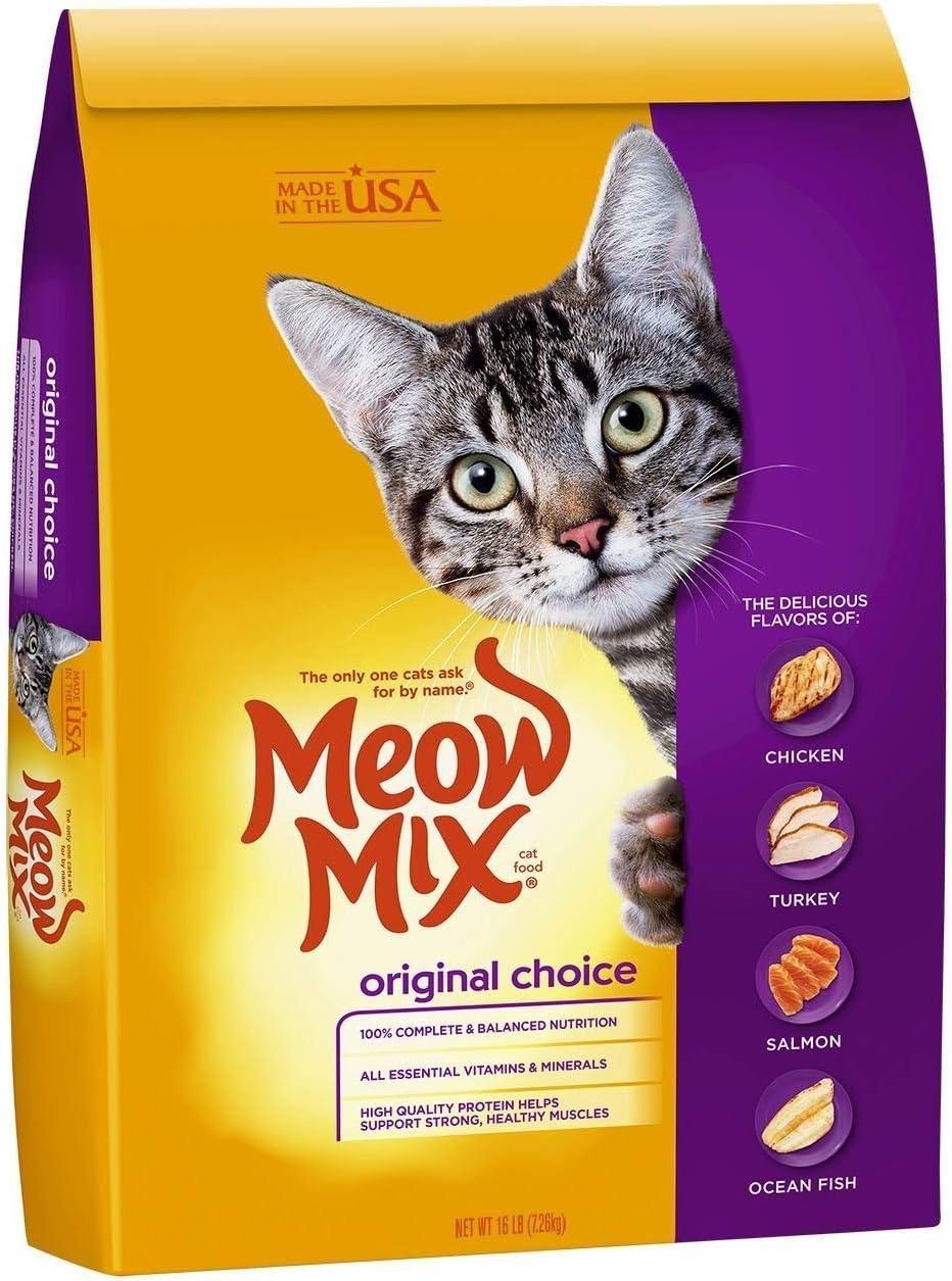 Meow Mix Original Choice Dry Cat Food (16 lb (3 Pack))