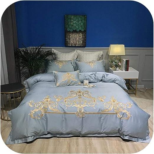 HCIUUI 2020 - Juego de sábanas de algodón para Cama de Matrimonio ...