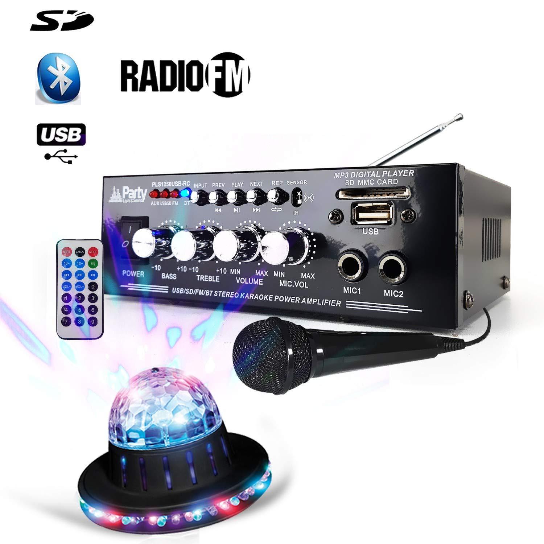 Amplificador Soirée Karaoke 50 W - estéreo - USB/Bluetooth/SD ...