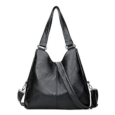 e5ff1a6e19af NOTAG Leather Hobo Bags for Women Large Shoulder ... - Amazon.com