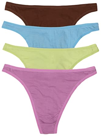 71uqaPijXEL._UY445_ fruit of the loom women's 4 pack cotton fashion thong panties at,Womens Underwear Amazon
