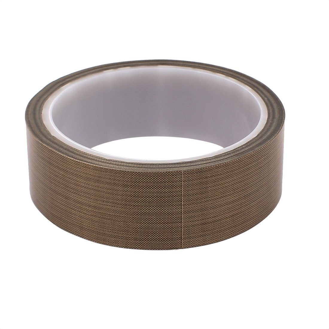 DealMux 0.13 x 30mm PTFE Tape High Temperature Resistant Tape Non-adhesive Tape for Sealing Machine