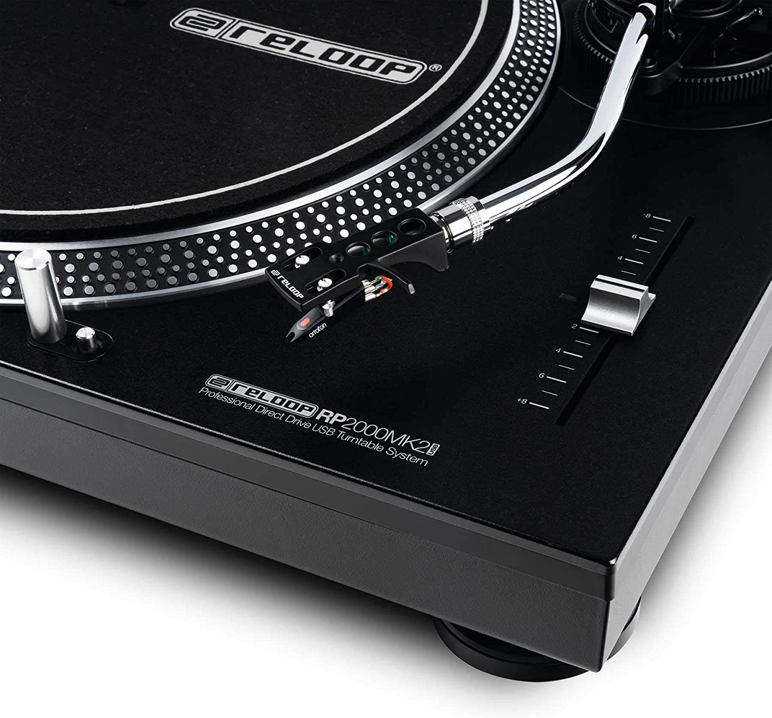 Reloop Professional Direct Drive USB Turntable System (AMS-RP-2000-USB-MK2)