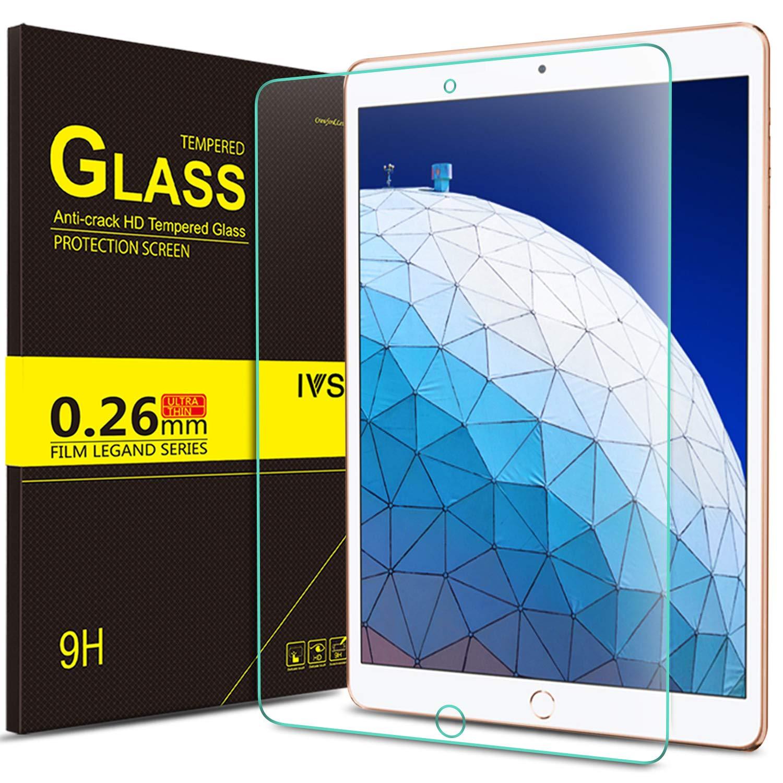 IVSO Apple iPad Pro 10.5スクリーンプロテクター、[クリスタルClearity ] [傷付き] 9h HDクリアプレミアム強化ガラススクリーンプロテクターfor Apple New iPad Pro 10.5インチ2017タブレット( 1個)   B074PJRWTK