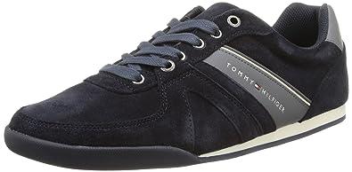 Tommy Hilfiger Riley 2B, Sneakers Basses Homme, Gris (884 Magnet), 40 EU