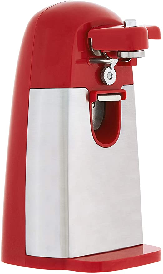 Best Can Opener Easy Cooking Tool Small Kitchen Utensil Manual Appliance Red New
