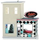 Hallmark 2014 Andy's Cars Nostalgic Houses and Shops Ornament