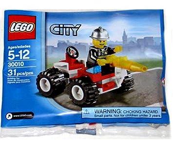 LEGO 30010 City - Bombero con vehículo (Bolsa con 31 Piezas ...
