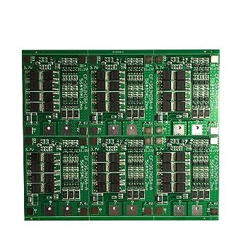 Pinzhi 3S 25A 12V Li-ion Lithium BMS 18650 Cargador de ...