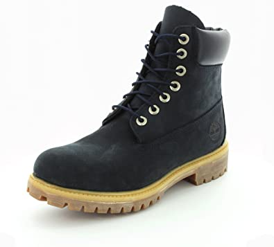 online store 76a43 59869 Timberland 6 Inch Premium Boots 6163A navy - 44: Amazon.co ...