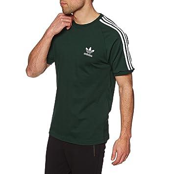 Adidas 3-Stripes tee Camiseta, Hombre, Verde (vernoc), S: Amazon.es: Deportes y aire libre