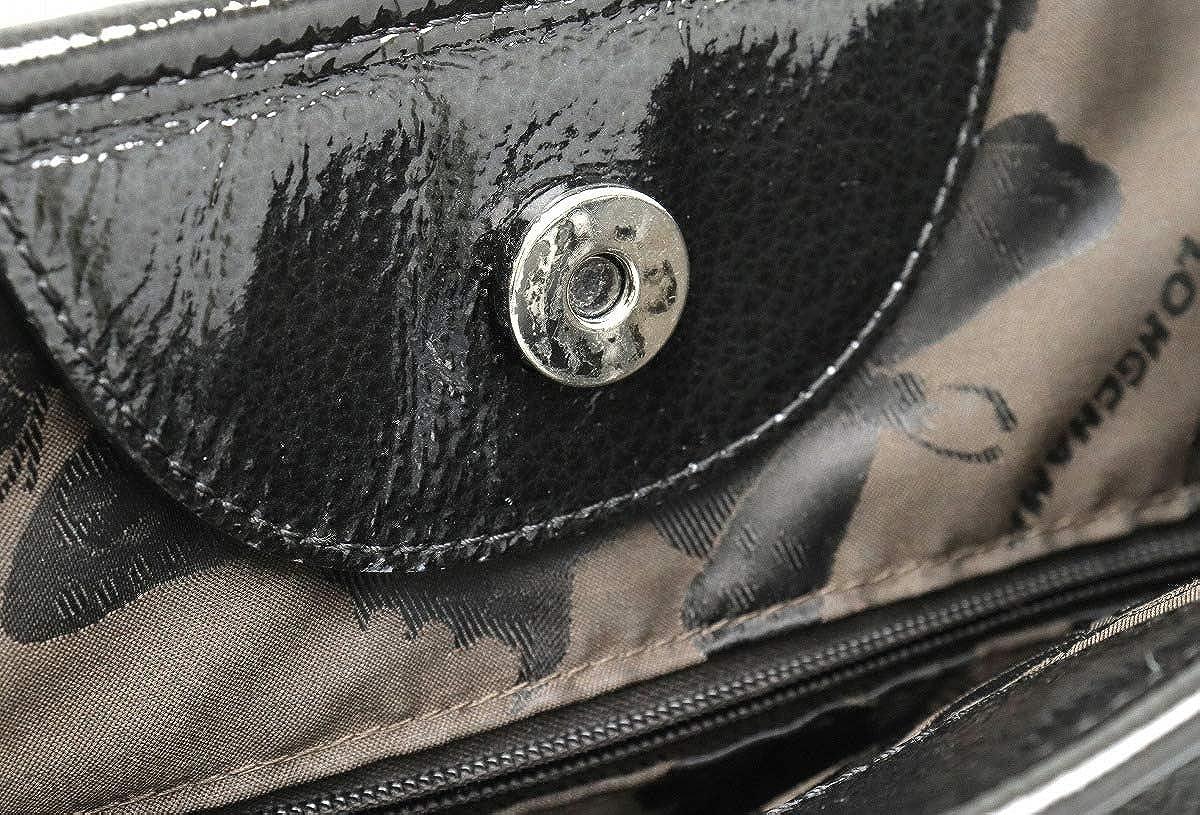 86ff81265258 Amazon | [ロンシャン] LONGCHAMP ロゾ ハンドバッグ トートバッグ パテントレザー ブラック 黒 シルバー金具 [中古] |  LONGCHAMP(ロンシャン) | トートバッグ