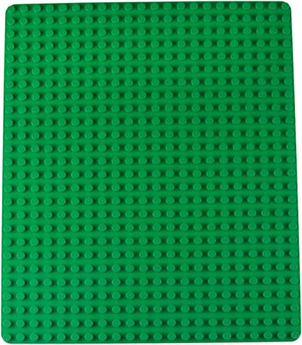 Strictly Briks Classic Briks 10x10 Inch Stackable Baseplates 4 Pack Basic Colors 100/% Compatible with All Major Large Brick Brands