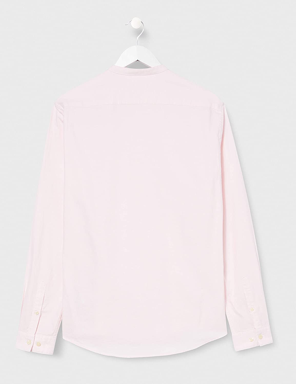 Marke Herren Lang/ärmeliges Oxford-Hemd find