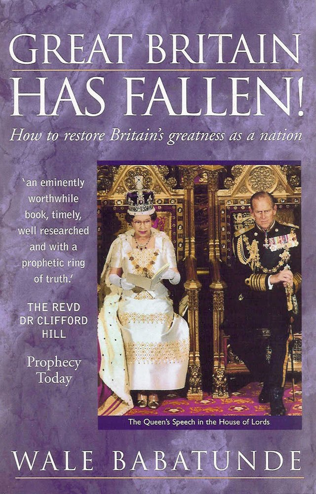 Download Great Britain Has Fallen: How to Restore Britain's Greatness as a Nation pdf