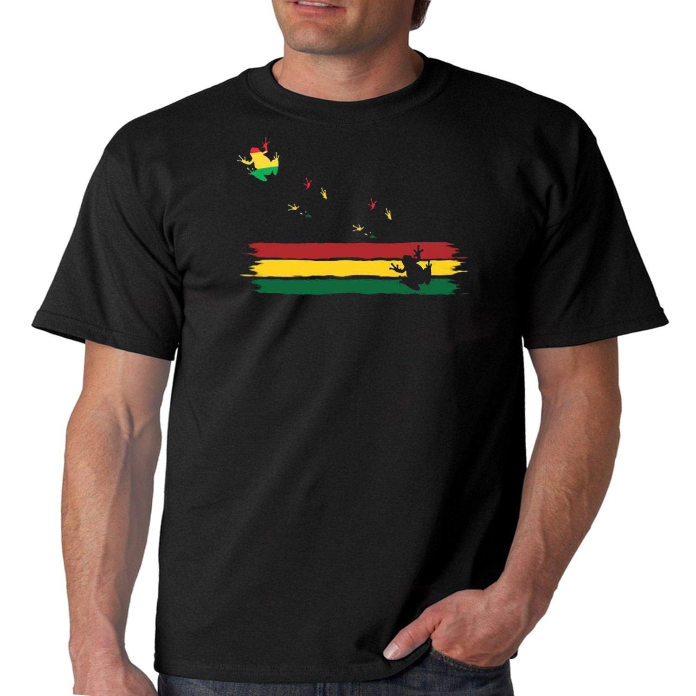 Juiceclouds Rasta Tshirt Island Frogs S Tee 8728