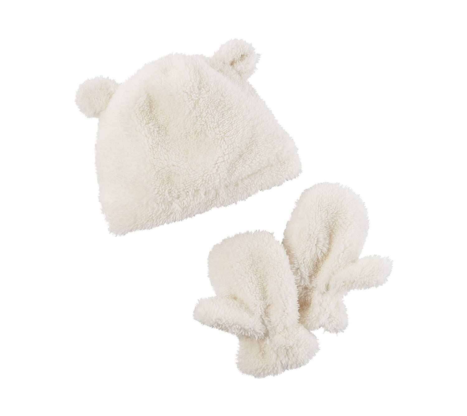 Carter's Girls' 12 Months-4T Sherpa Hat and Mittens Set Carter's D08G380