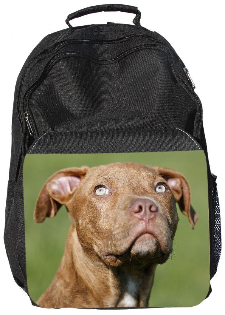 American Pit Bull Terrier – Black Rucksack Backpack Bag – Apt 04 + + +