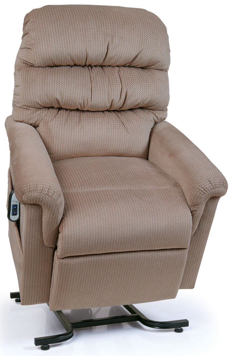Montage Collection UC542-JPT-M Small Scale Lift Chair Recliner - Brown Sugar (curbside delivery)