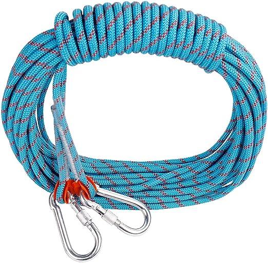 LYM-Rope Cuerda Escalada, 10.5 Mm Diámetro, Uso Doméstico ...