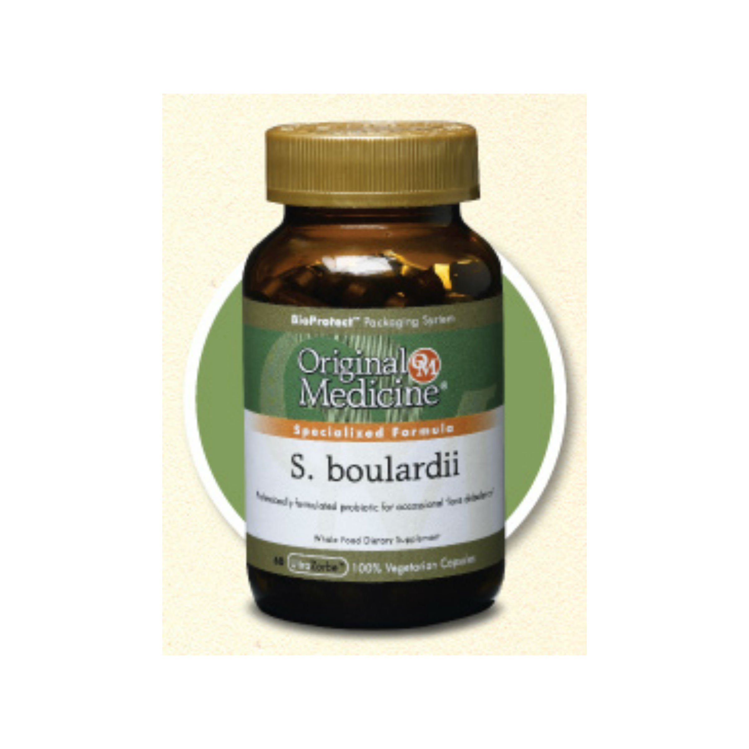 Original Medicine S. boulardii Probiotic - 60 capsules