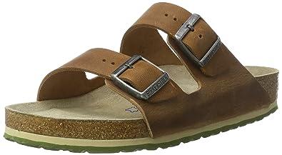 5e21760bf0c943 BIRKENSTOCK Classic Unisex-Erwachsene Arizona Leder Softfootbed Pantoletten