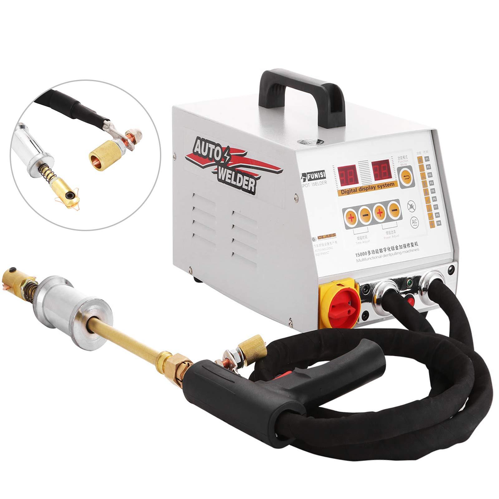 Bestauto Dent Puller 12KW Spot Welder 2600A Car Dent Repair for Vehicle Panel Spot Puller Dent Bonnet Door Repair