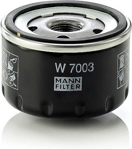 Mann Filter W 7003 Original Filtro de Aceite, Para automóviles ...