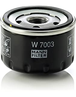 MANN-FILTER Original Filtro de Aceite W 7003 – Para automóviles