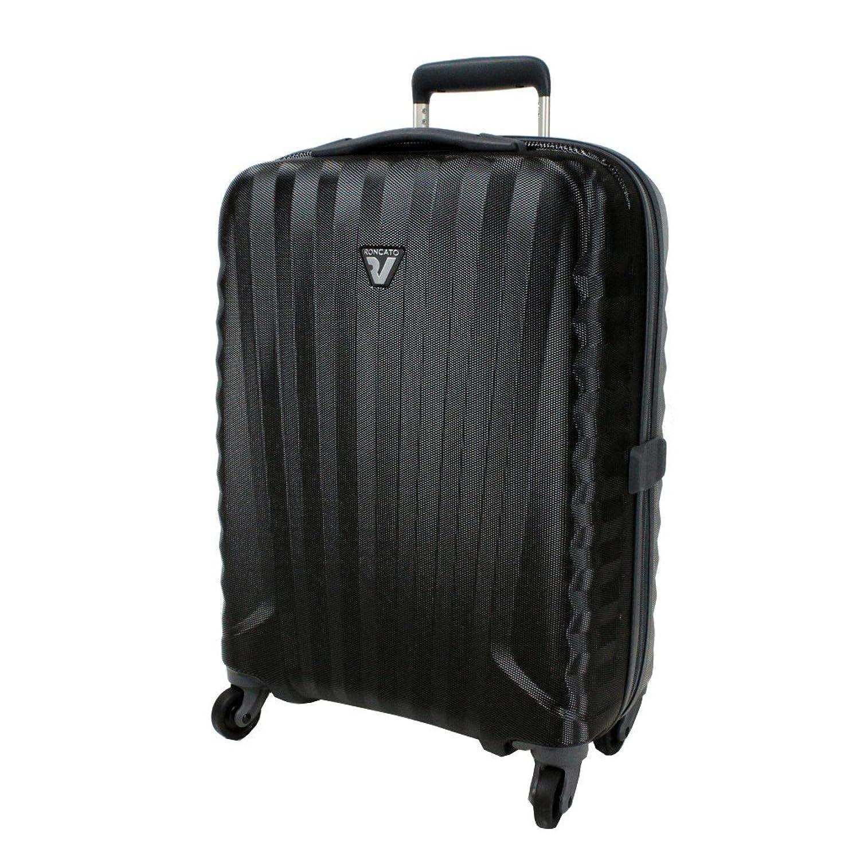 RONCATO ロンカート UNO ZIP ZSL ウノ ジッパーキャリーケース スーツケース 5083 B00O9GVTZQブラック