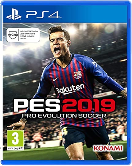 Amazon com: Pro Evolution Soccer 2019 (PS4): Video Games