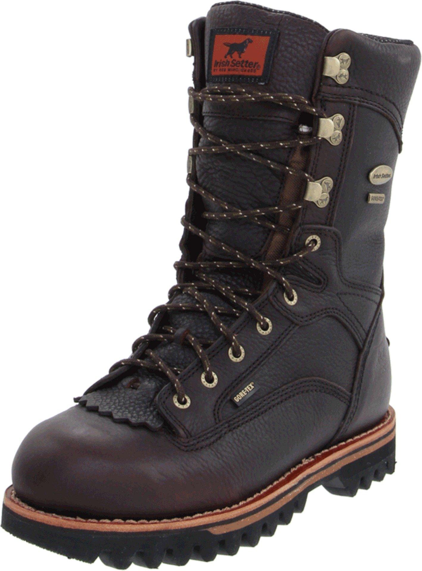 Irish Setter Men's 860 Elk Tracker Waterproof 1000 Gram 12'' Big Game Hunting Boot,Brown,8 D US by Irish Setter