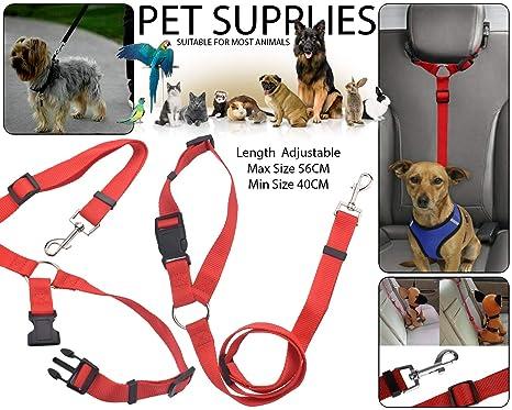 BisLinks Dog Cinturón de Seguridad para automóvil Arnés de ...