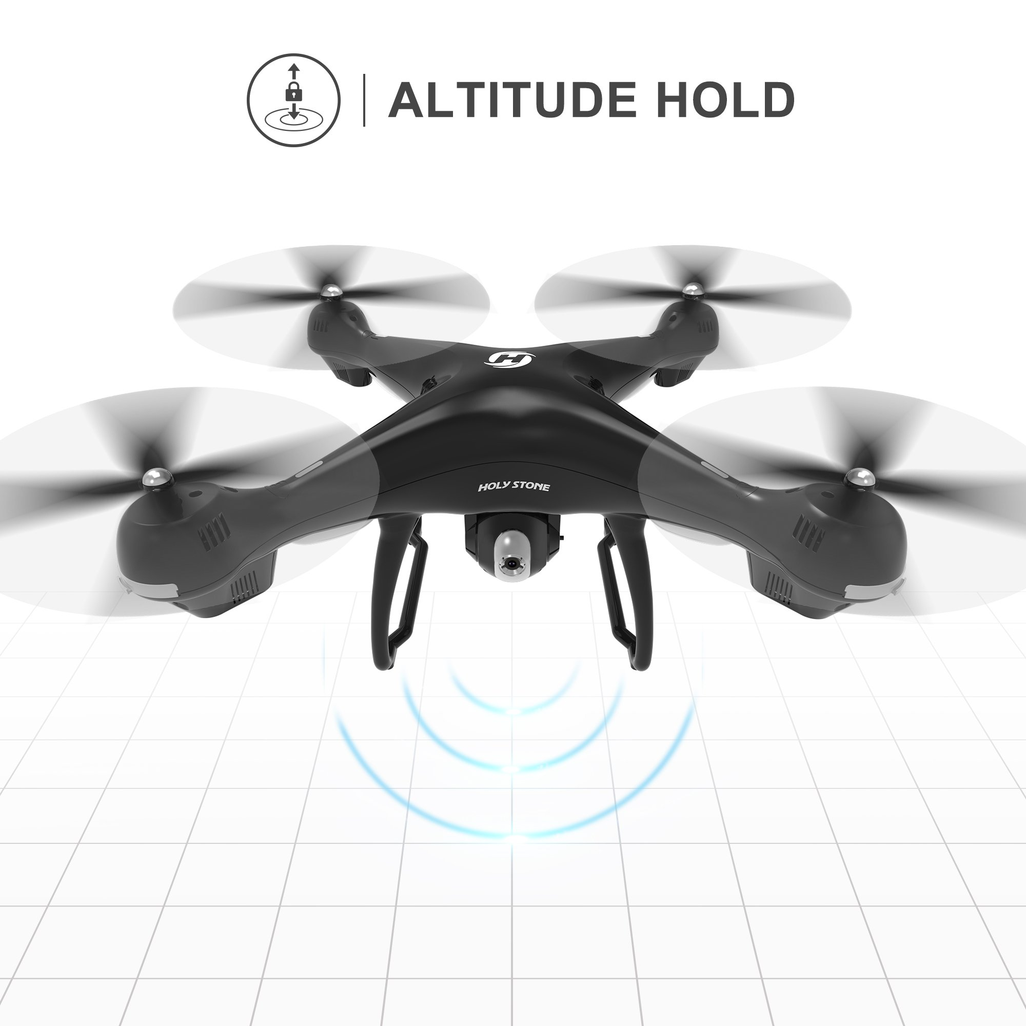 Holy Stone HS100 FPV RC Drone with Camera Live Video and GPS Return Home Quadcopter with Adjustable Wide-Angle 720P HD WIFI Camera- Follow Me, Altitude Hold, Intelligent Battery, Long Control Distance by Holy Stone (Image #8)