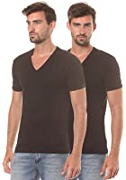 G-STAR RAW Herren T-Shirt Base V T S/S 2-Pack