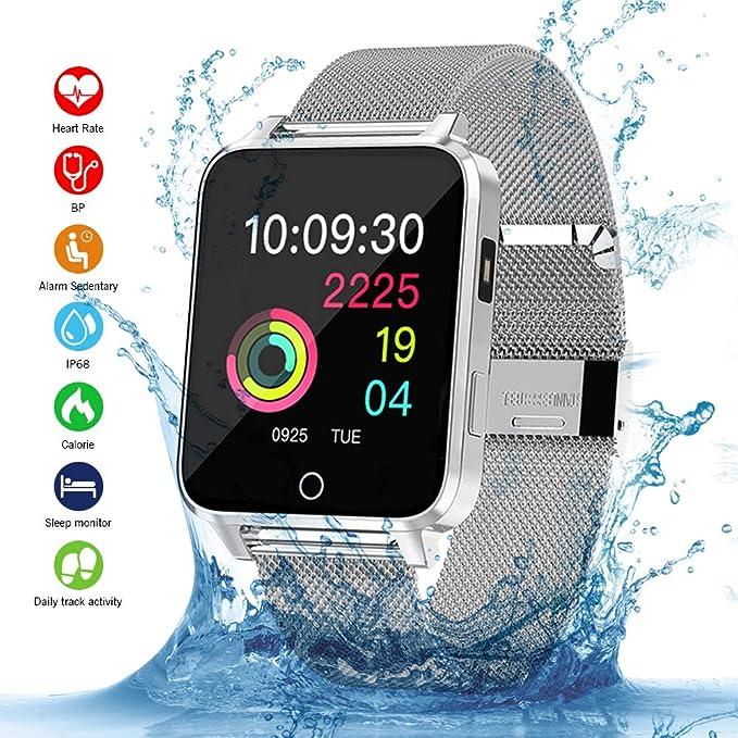 Amazon.com: Bluetooth Smart Watch Fitness Tracker Sport ...