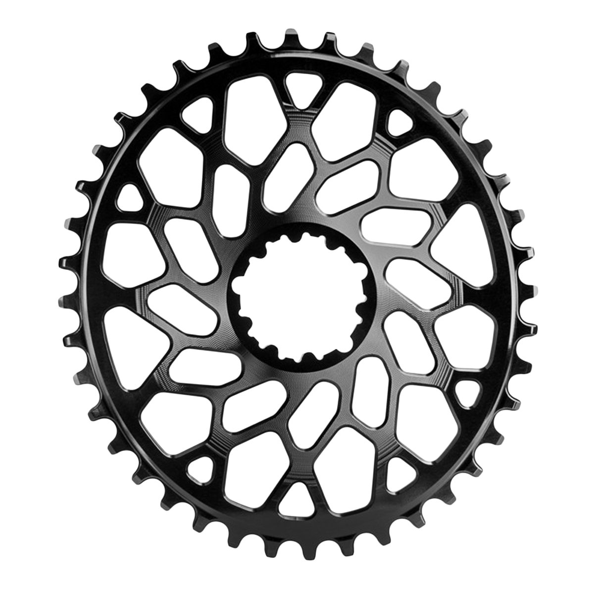 Absolute Black GXP /& BB30 Oval Direct CX Chainring Direct Gxp//bb30 36t Bk