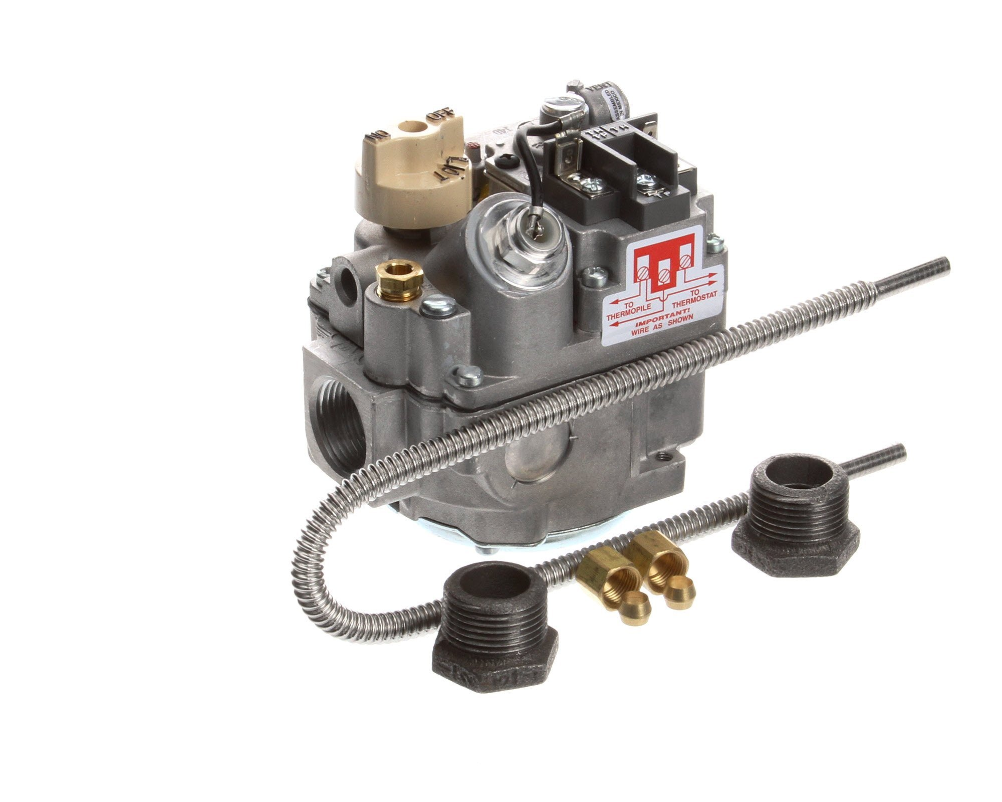 Imperial 37560, Ifs-40 Fryer Gas Valve Nat by Imperial