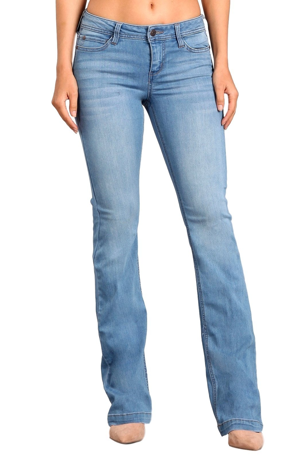 Celebrity Pink Women's Mid Rise Kickboot Jeans 11 Grimes CJ21007H18