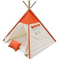 Fi Çadır Çocuk Oyun Çadırı Üst Turuncu
