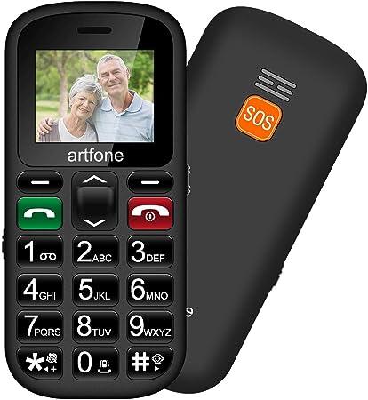 Artfone Teléfono móviles para Mayores con Teclas Grandes, Artfone ...